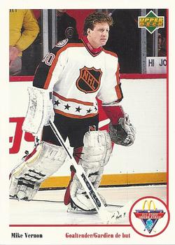 1991-92 McDonald's Upper Deck #20 Mike Vernon