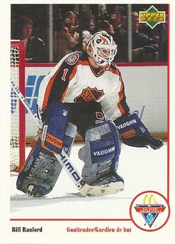 1991-92 McDonald's Upper Deck #21 Bill Ranford