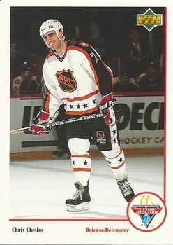1991-92 McDonald's Upper Deck #22 Chris Chelios