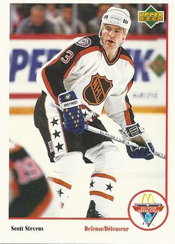 1991-92 McDonald's Upper Deck #24 Scott Stevens