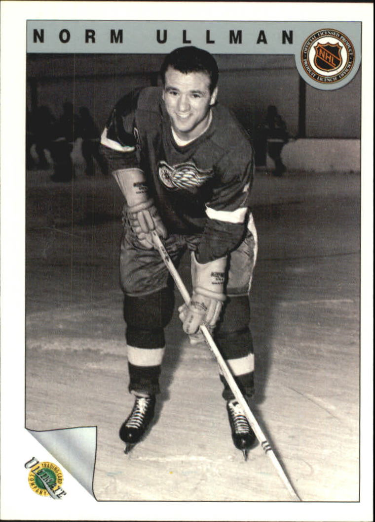 1991-92 Ultimate Original Six #72 Norm Ullman