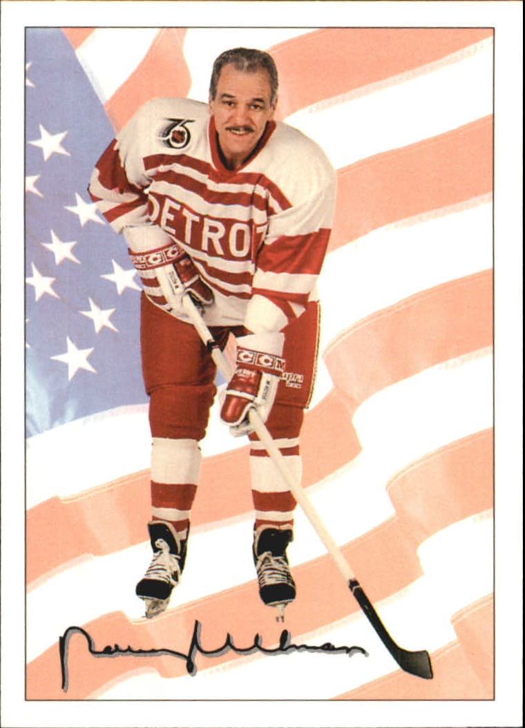 1991-92 Ultimate Original Six #78 Norm Ullman