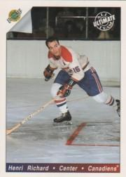 1991-92 Ultimate Original Six #81 Henri Richard