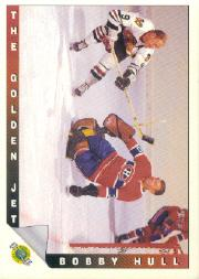 1991-92 Ultimate Original Six #91 Bobby Hull/The Curse of