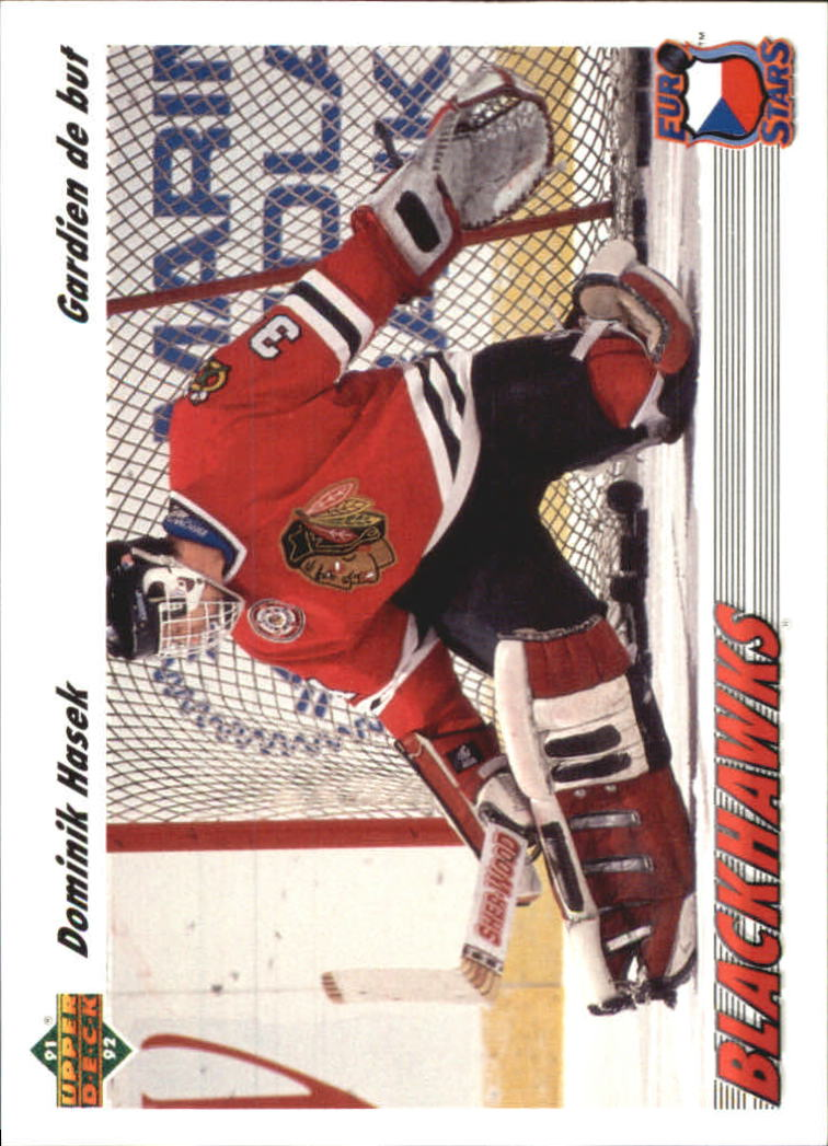 1991-92 Upper Deck Euro-Stars French #E14 Dominik Hasek