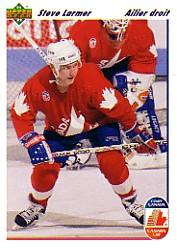 1991-92 Upper Deck French #15 Steve Larmer CC