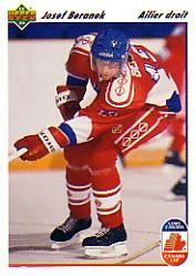 1991-92 Upper Deck French #17 Josef Beranek CC RC