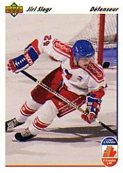 1991-92 Upper Deck French #18 Jiri Slegr CC RC