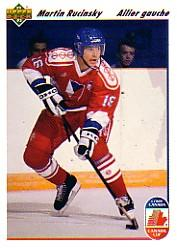 1991-92 Upper Deck French #19 Martin Rucinsky CC RC