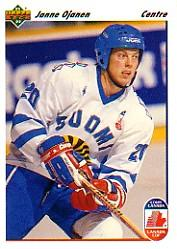 1991-92 Upper Deck French #25 Janne Ojanen CC