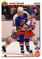 1991-92 Upper Deck French #36 Jeremy Roenick CC