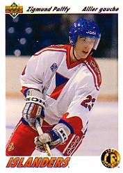 1991-92 Upper Deck French #71 Zigmund Palffy RC