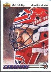 1991-92 Upper Deck French #137 Patrick Roy