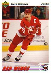 1991-92 Upper Deck French #146 Steve Yzerman
