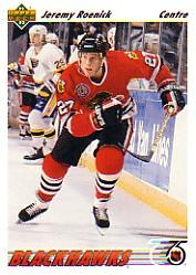 1991-92 Upper Deck French #166 Jeremy Roenick