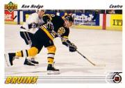 1991-92 Upper Deck French #251 Ken Hodge Jr.