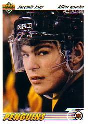 1991-92 Upper Deck French #256 Jaromir Jagr