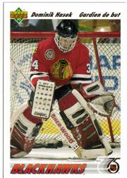 1991-92 Upper Deck French #335 Dominik Hasek RC