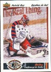 1991-92 Upper Deck French #614 Patrick Roy AS
