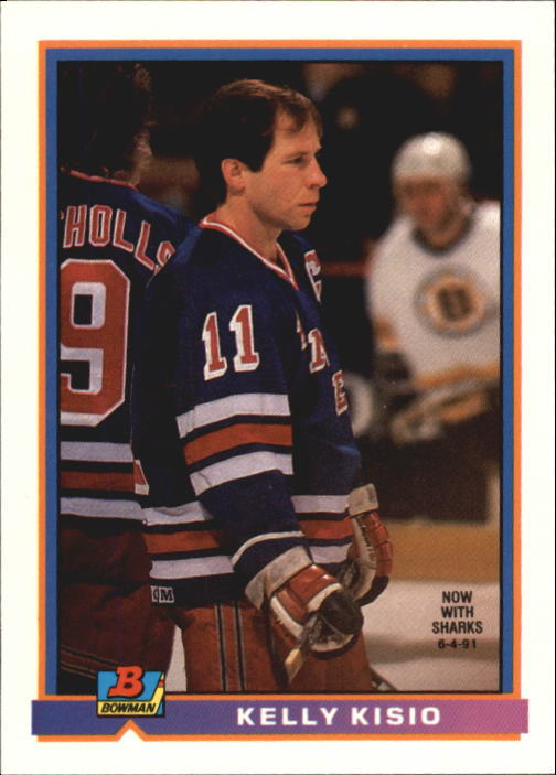 1991-92 Bowman #72 Kelly Kisio