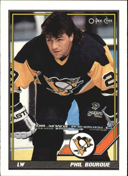 1991-92 O-Pee-Chee #33 Phil Bourque UER