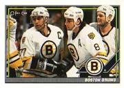 1991-92 O-Pee-Chee #170 Bruins Team