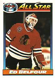1991-92 O-Pee-Chee #263 Ed Belfour AS