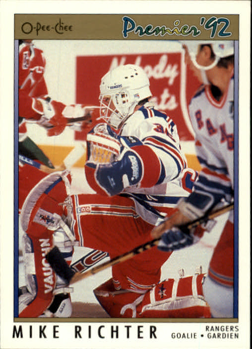 1991-92 OPC Premier #78 Mike Richter