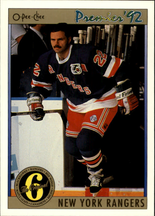 1991-92 OPC Premier #147 Mike Gartner ORIG6