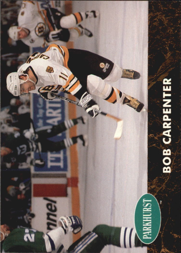 1991-92 Parkhurst #226 Bob Carpenter