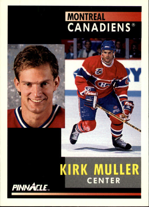 1991-92 Pinnacle #3 Kirk Muller