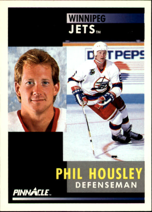 1991-92 Pinnacle #4 Phil Housley