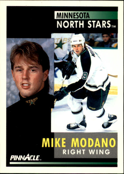 1991-92 Pinnacle #5 Mike Modano