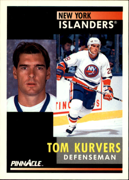1991-92 Pinnacle #7 Tom Kurvers