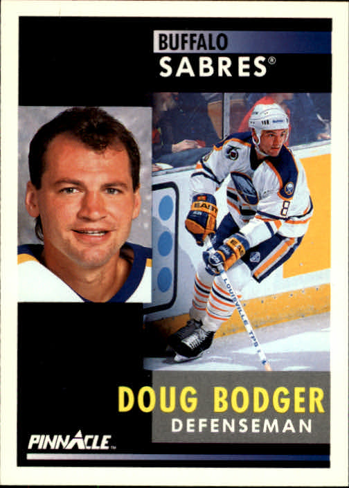 1991-92 Pinnacle #8 Doug Bodger