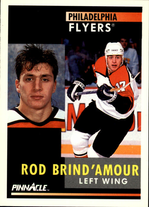 1991-92 Pinnacle #9 Rod Brind'Amour