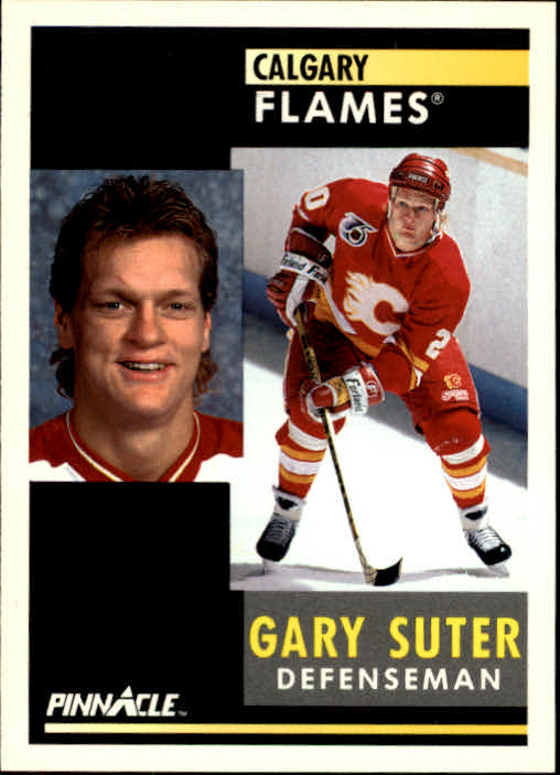 1991-92 Pinnacle #11 Gary Suter