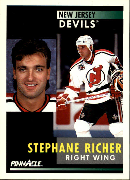 1991-92 Pinnacle #14 Stephane Richer