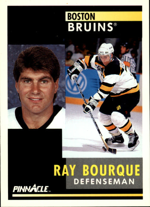 1991-92 Pinnacle #15 Ray Bourque