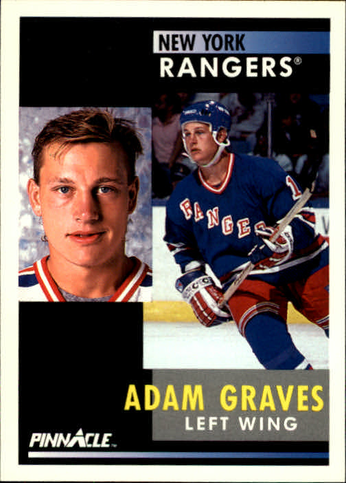 1991-92 Pinnacle #16 Adam Graves