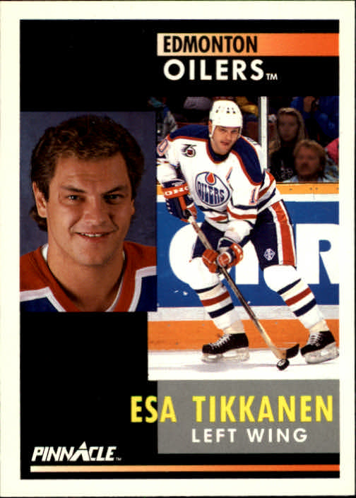 1991-92 Pinnacle #24 Esa Tikkanen