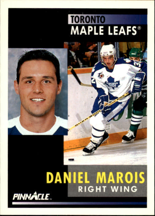1991-92 Pinnacle #27 Daniel Marois