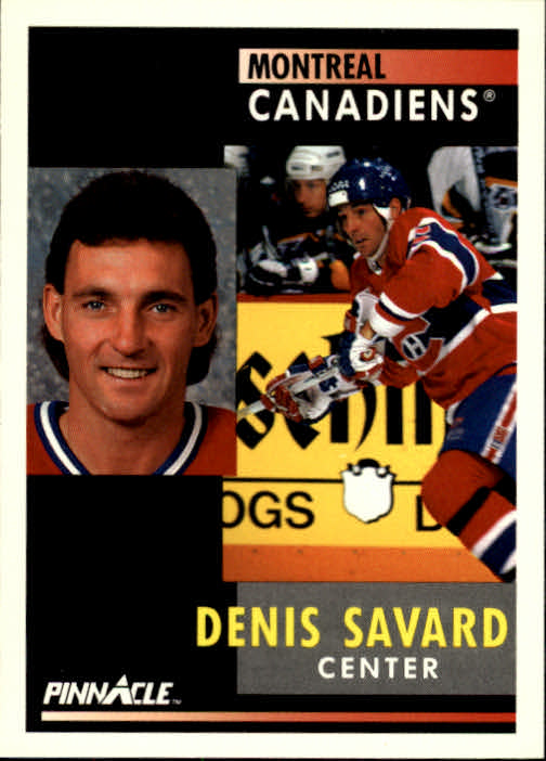 1991-92 Pinnacle #28 Denis Savard