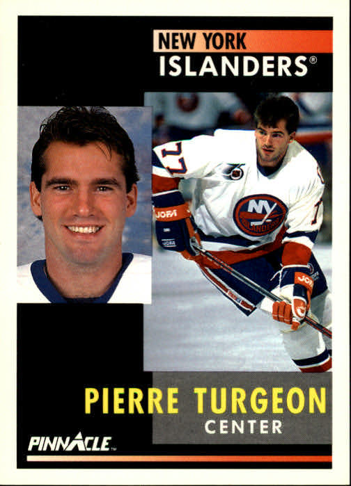 1991-92 Pinnacle #30 Pierre Turgeon