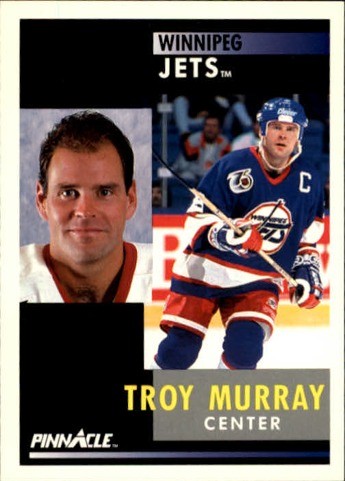1991-92 Pinnacle #33 Troy Murray