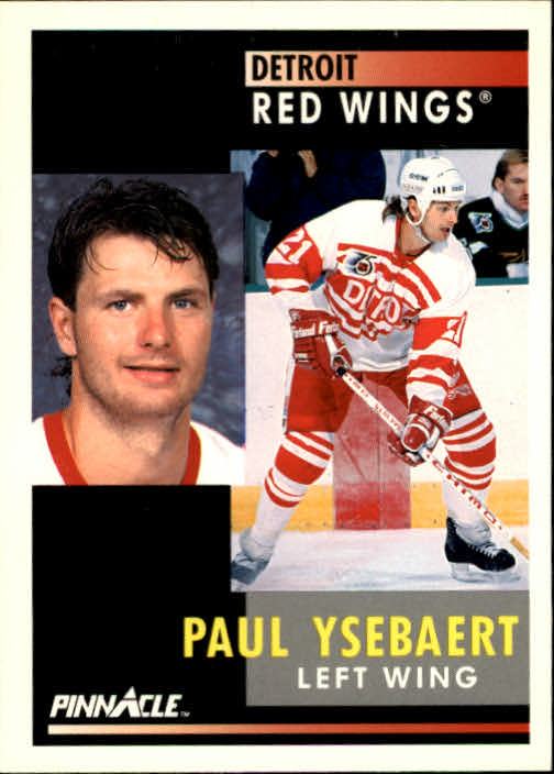 1991-92 Pinnacle #36 Paul Ysebaert
