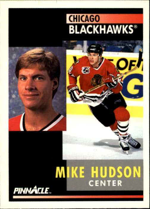 1991-92 Pinnacle #38 Mike Hudson