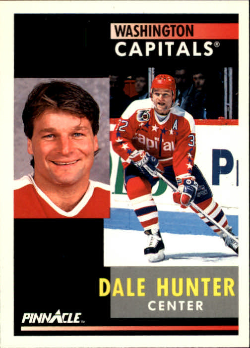 1991-92 Pinnacle #40 Dale Hunter