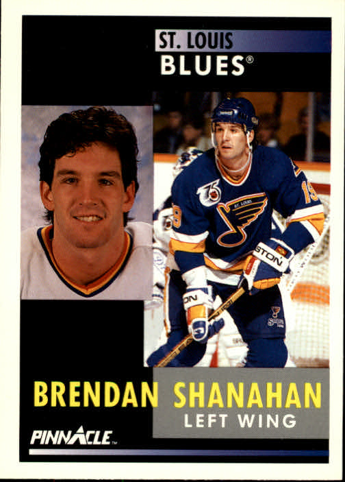 1991-92 Pinnacle #41 Brendan Shanahan