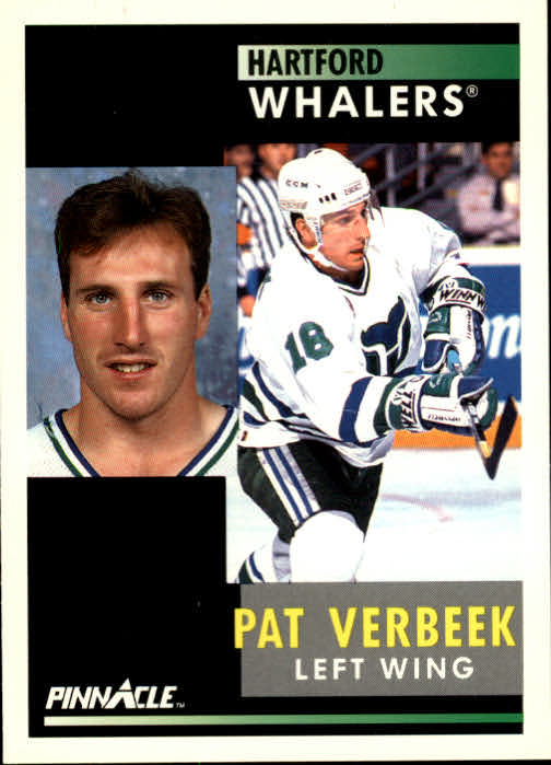 1991-92 Pinnacle #43 Pat Verbeek